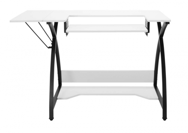 Comet Hobby and Sewing Table - Black/White