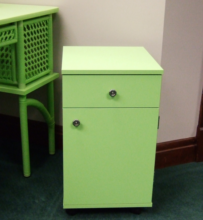Arrow Sewing Cabinet Suzi Sewing Storage Cabinet with Four Drawer - Green